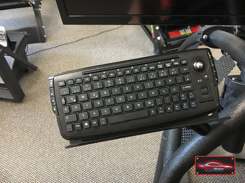Force2Motion Mini-Keyboard-Halterung