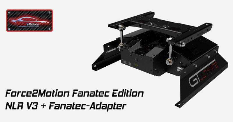 Next Level Racing Motion Platform V3 - Fanatec Edition - Bundle