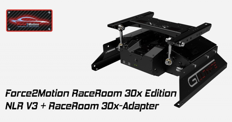Next Level Racing Motion Platform V3 - RaceRoom Edition 30x