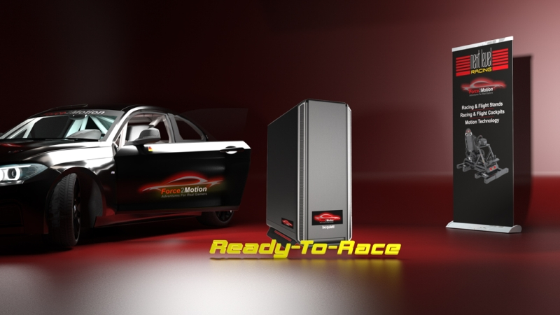 R2R-Addon Force2Motion Gaming PC High-End