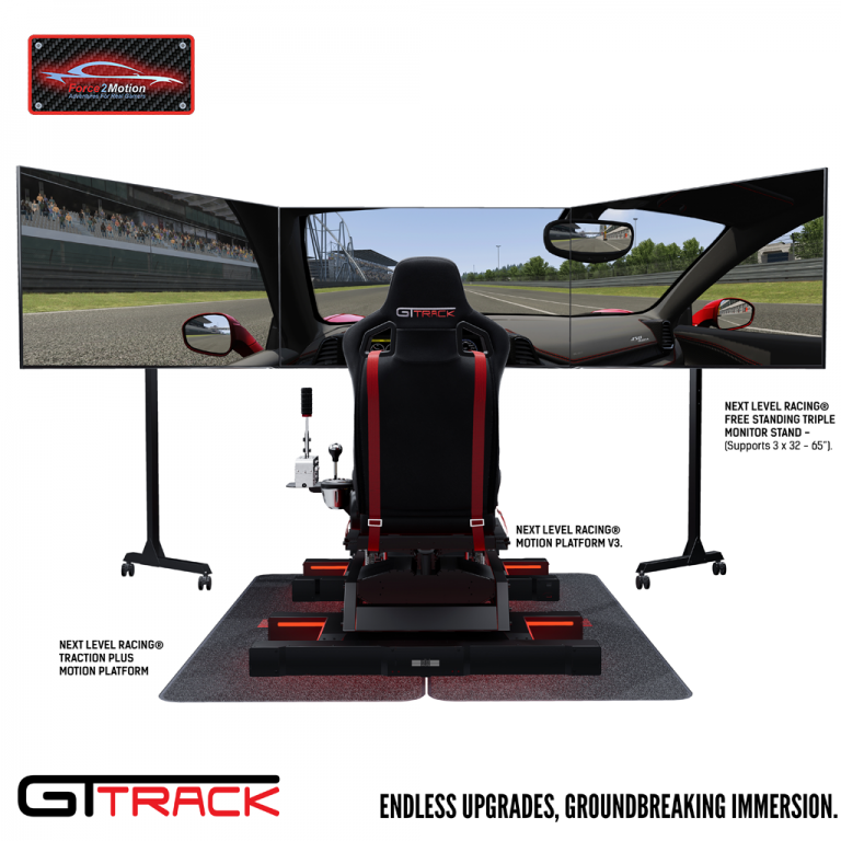 Next Level Racing GTtrack Cockpit