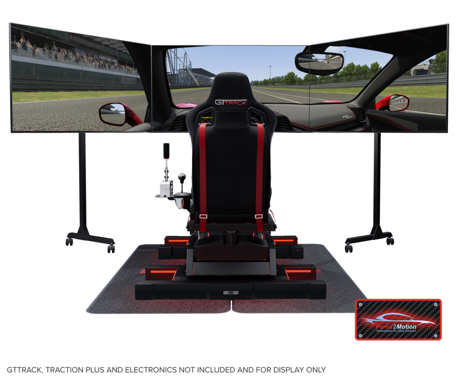 Next Level Racing Free Standing Triple Monitor Stand